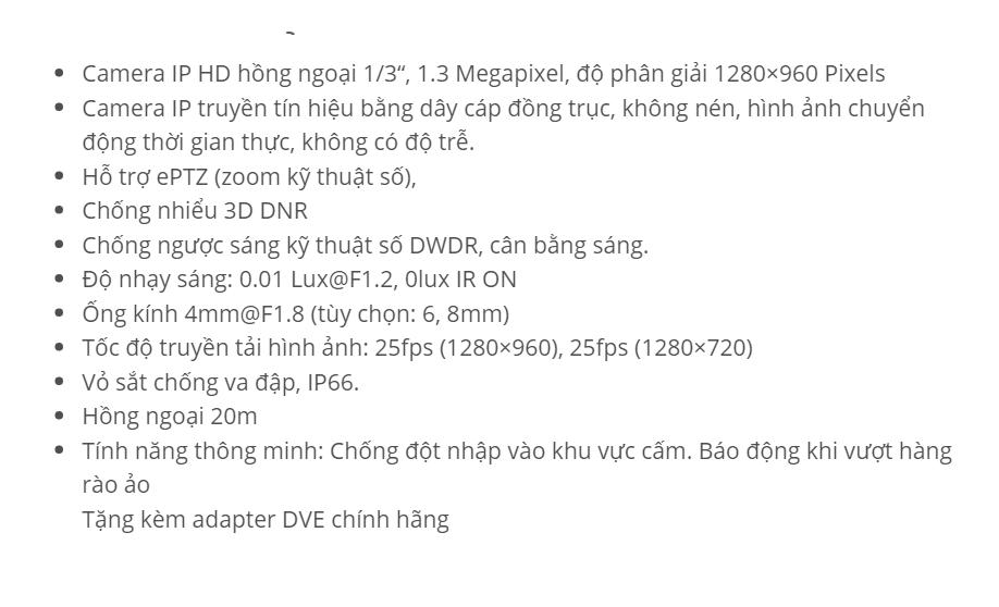 DS-2CD2010F-I (IP 1.3 M)