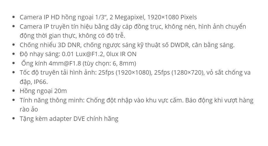 DS-2CD2020F-I (IP 2.0 MP)