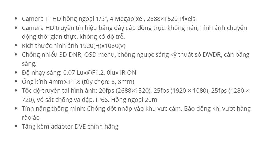 DS-2CD2042WD-I (IP 4 M)