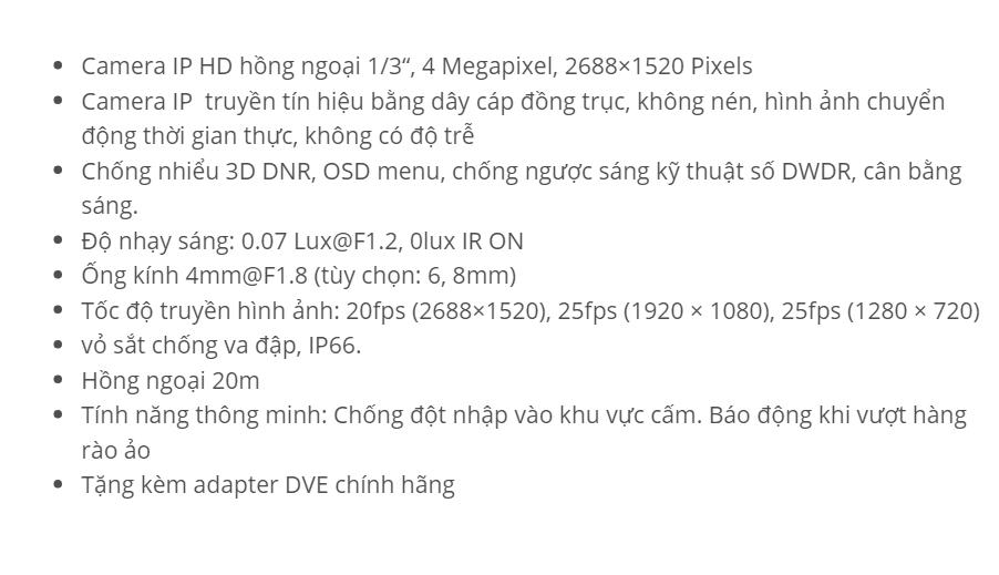 HDS-2042IRP (IP 4 M)