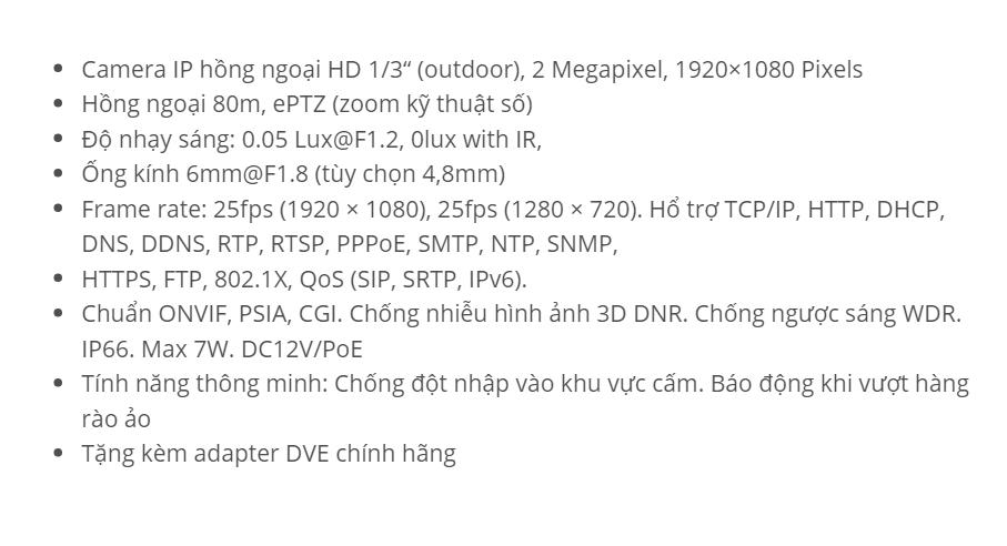 HDS-2220IRP8 (IP 2 M)