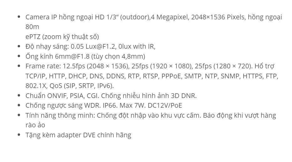 HDS-2242IRP8 (IP 4 M)