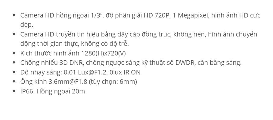 HDS-5882TVI-IR (HD-TVI 1M)