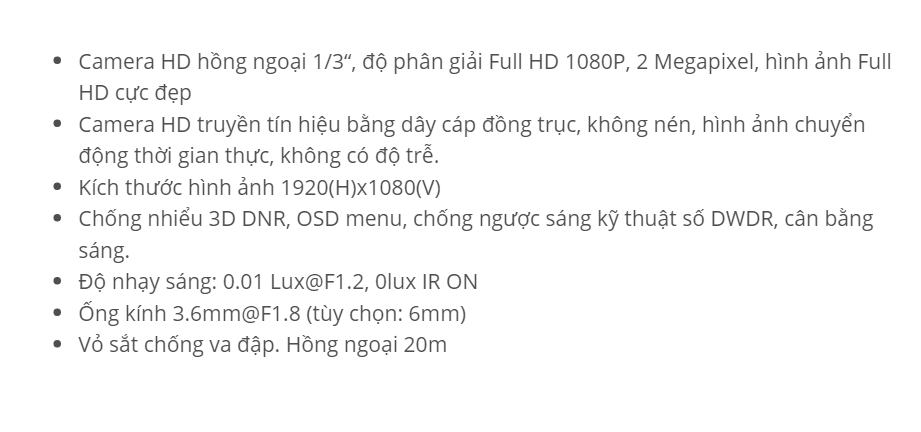 HDS-5885TVI-IR (HD-TVI 2M)