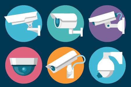 Các dạng camera an ninh phổ biến: