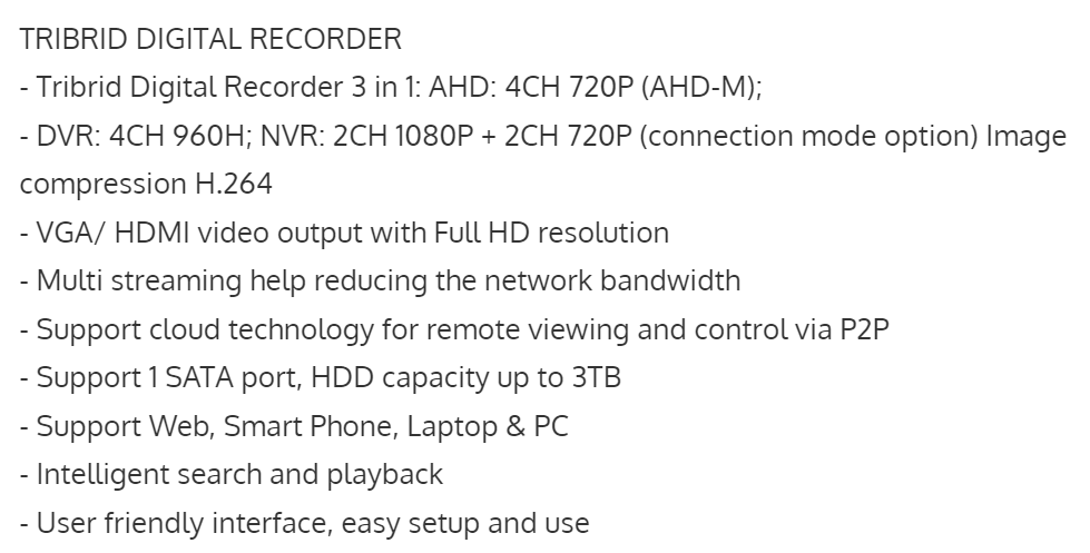 VP-4160AHDM
