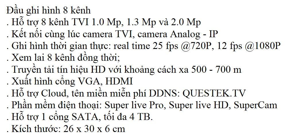 Win-8408TVI 1