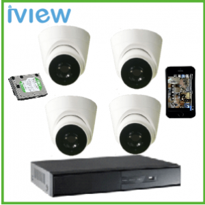 Bộ Iview RN-AHD1107 1.3MP-AHD-1107