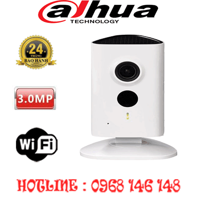 TRỌN BỘ 1 CAMERA WIFI 3.0MP DAHUA IPC-C35P-IPC-C35P