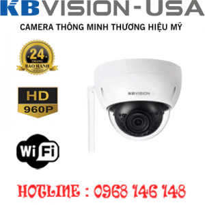 TRỌN BỘ 1 CAMERA WIFI 1.3MP KBVISION KX-1302WN-KX-1302WN