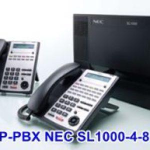 Tổng đài điện thoại IP NEC SL1000-NEC-IP-PBX SL1000-4-8