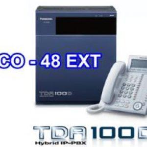Tổng đài PANASONIC KX-TDA100D-16-48-Panasonic-KX-TDA100D-16-48