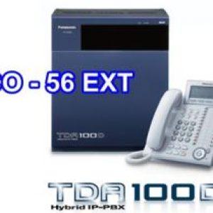 Tổng Đài Điện Thoại Panasonic Kx-Tda100D-8-56-Panasonic-KX-TDA100D-8-56