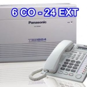 Tổng đài PANASONIC KX-TES824 (6 trung kế 24 nhánh)-tong-dai-panasonic-KX-TES824-6-24-gia-re