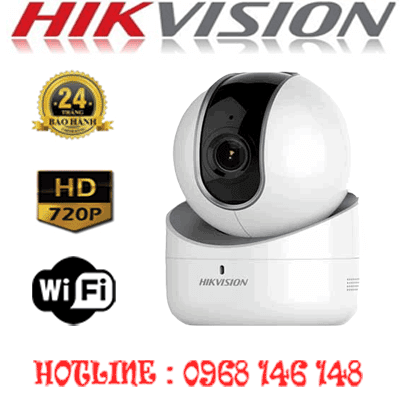 TRỌN BỘ 1 CAMERA WIFI 1.0MP HIKVISION DS-2CV2Q01EFD-IW-DS-2CV2Q01EFD-IW