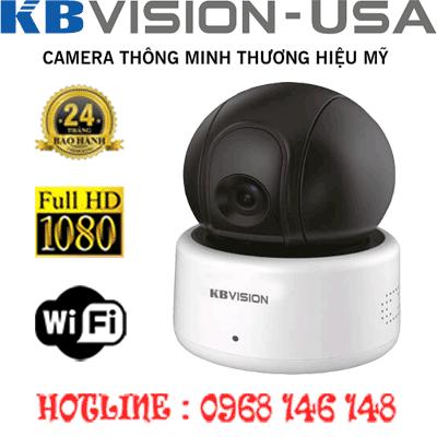 TRỌN BỘ 1 CAMERA WIFI 2.0MP KBVISON KX-H20PWN-KX-H20PWN