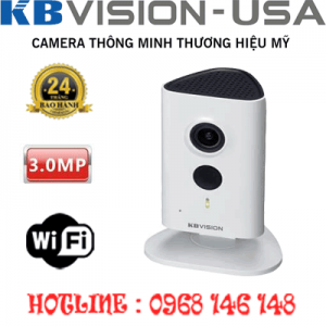 TRỌN BỘ 1 CAMERA WIFI 3.0MP KBVISON KX-H30WN-KX-H30WN