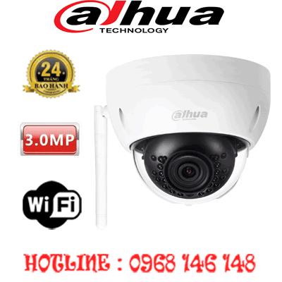 Lắp Đặt Trọn Bộ 1 Camera 3.0Mp Dahua Ipc-Hdbw1320Ep-W-IPC-HDBW1320EP-W