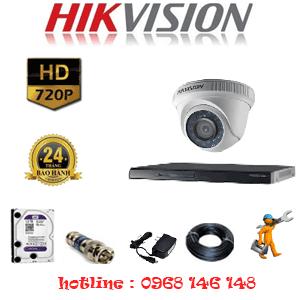 Trọn Bộ 1 Camera Hikvision 1.0Mp (Hik-11100)-HIK-111100