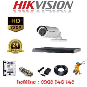 Lắp Đặt Trọn Bộ 1 Camera Hikvision 1.0Mp (Hik-11200)-HIK-11200