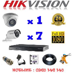 Lắp Đặt Trọn Bộ 8 Camera Hikvision 2.0Mp Lite (Hik-21374)-HIK-21374