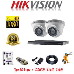 Lắp Đặt Trọn Bộ 2 Camera Hikvision 2.0Mp Lite (Hik-22300)-HIK-22300