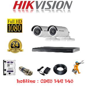 Trọn Bộ 2 Camera Hikvision 2.0Mp Lite (Hik-22400)-HIK-22400