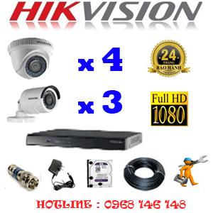 Lắp Đặt Trọn Bộ 7 Camera Hikvision 2.0Mp Lite (Hik-24334)-HIK-24334