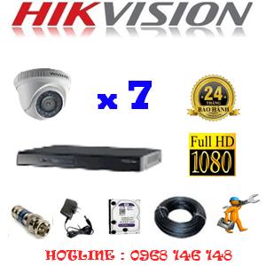Lắp Đặt Trọn Bộ 7 Camera Hikvision 2.0Mp Lite (Hik-27300)-HIK-27300