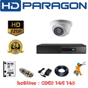 Lắp Đặt Trọn Bộ 1 Camera Hdparagon 1.0Mp (Prg-11100)-PRG-11100