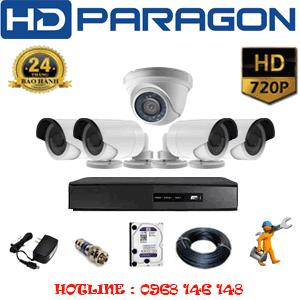Lắp Đặt Trọn Bộ 5 Camera Hdparagon 1.0Mp (Prg-11142)-PRG-11142