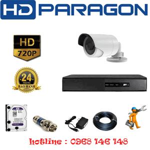 Lắp Đặt Trọn Bộ 1 Camera Hdparagon 1.0Mp (Prg-11200)-PRG-11200