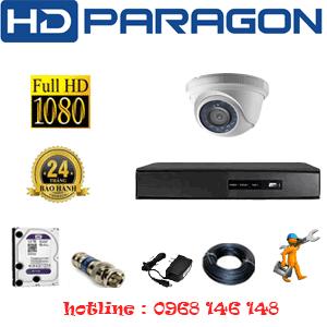 Lắp Đặt Trọn Bộ 1 Camera Hdparagon 2.0Mp Lite (Prg-21300)-PRG-21300