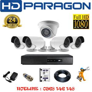 Lắp Đặt Trọn Bộ 5 Camera Hdparagon 2.0Mp Lite (Prg-21344)-PRG-21344