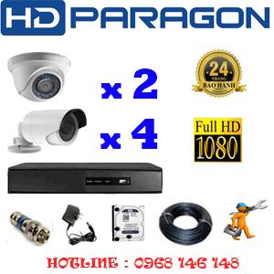 Lắp Đặt Trọn Bộ 6 Camera Hdparagon 2.0Mp Lite (Prg-22344)-PRG-22344