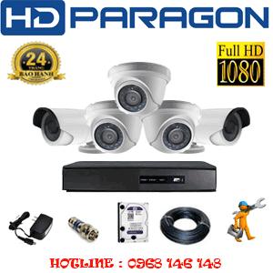 Lắp Đặt Trọn Bộ 5 Camera Hdparagon 2.0Mp Lite (Prg-23324)-PRG-23324