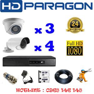 Lắp Đặt Trọn Bộ 7 Camera Hdparagon 2.0Mp Lite (Prg-23344)-PRG-23344