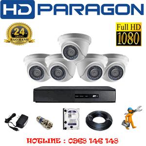 Lắp Đặt Trọn Bộ 5 Camera Hdparagon 2.0Mp Lite (Prg-25300)-PRG-25300