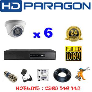 Lắp Đặt Trọn Bộ 6 Camera Hdparagon 2.0Mp Lite (Prg-26300)-PRG-26300