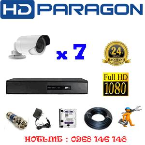 Lắp Đặt Trọn Bộ 7 Camera Hdparagon 2.0Mp Lite (Prg-27400)-PRG-27400