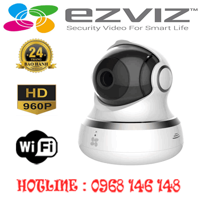 Lắp Đặt Trọn Bộ 1 Camera Wifi Ezviz 1.3Mp Ezviz Cs-Cv240-B0-21Wfr-CS-CV240-B0-21WFR