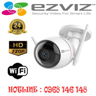 Trọn Bộ 1 Camera Wifi Ezviz 1.0Mp Ezviz  Cs-Cv310-A0-3B1Wfr-CS-CV310-A0-3B1WFR