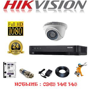 Lắp Đặt Trọn Bộ 1 Camera Hikvision 2.0Mp (Hik-21300F)-HIK-21300F