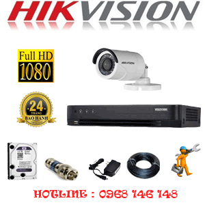 TRỌN BỘ 1 CAMERA HIKVISION 2.0MP (HIK-21400F)-HIK-21400F