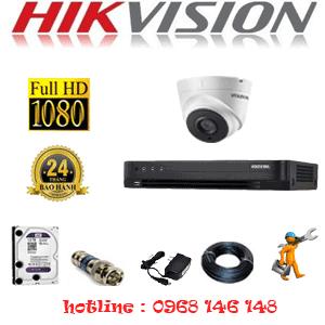 Lắp Đặt Trọn Bộ 1 Camera Hikvision 2.0Mp (Hik-21700)-HIK-21700