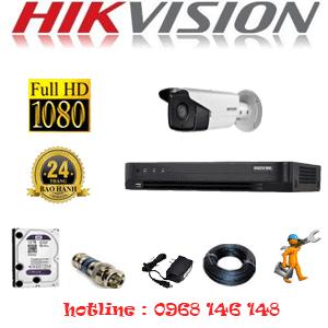 TRỌN BỘ 1 CAMERA HIKVISION 2.0MP (HIK-21800)-HIK-21800
