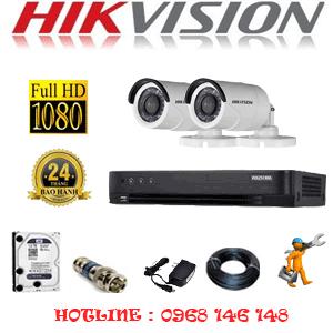TRỌN BỘ 2 CAMERA HIKVISION 2.0MP (HIK-22400F)-HIK-22400F