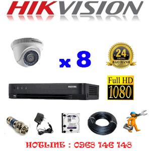TRỌN BỘ 8 CAMERA HIKVISION 2.0MP (HIK-28300F)-HIK-28300F