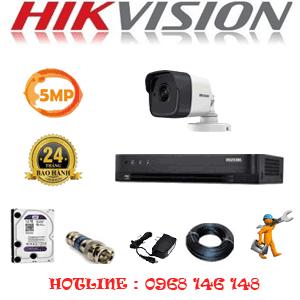 TRỌN BỘ 1 CAMERA HIKVISION 5.0MP (HIK-511000)-HIK-511000