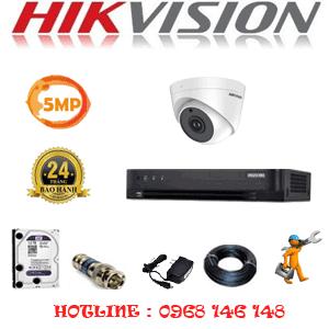 Lắp Đặt Trọn Bộ 1 Camera Hikvision 5.0Mp (Hik-51900)-HIK-51900